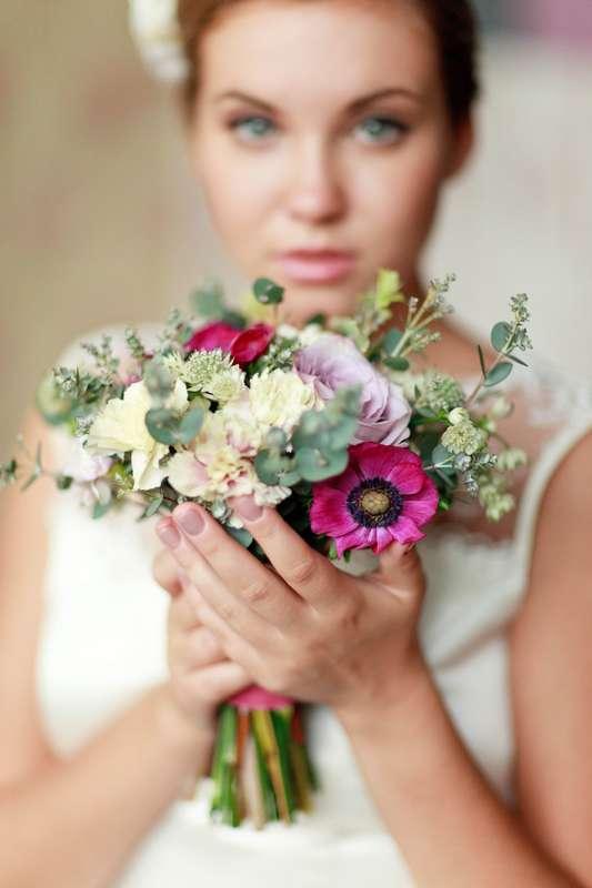 Фото 4263765 в коллекции Свадебные букеты - Пион Studio