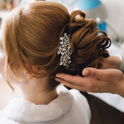 Причёска для длинных волос