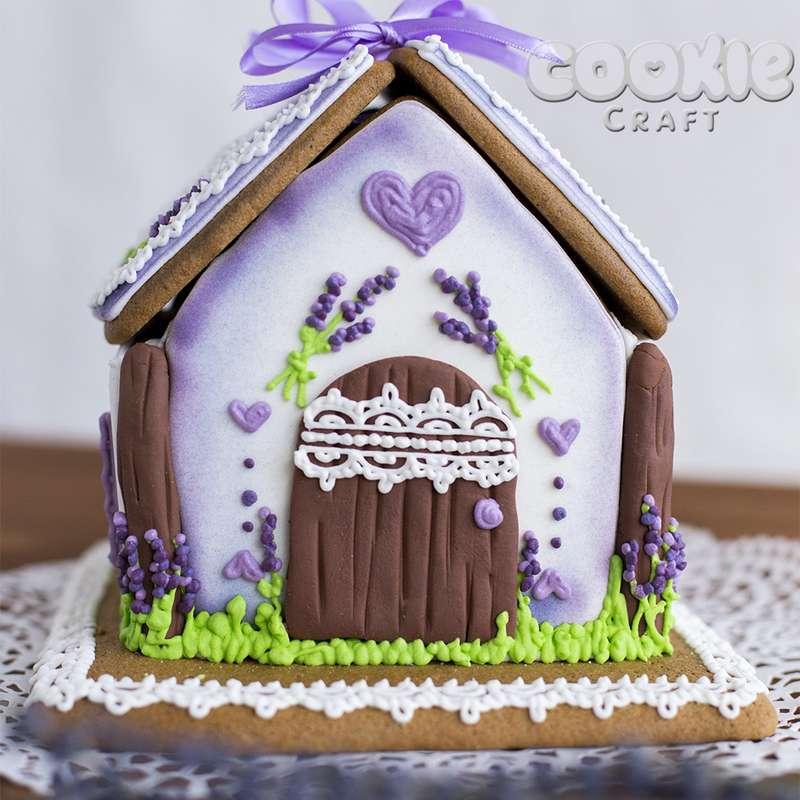 """Свадебный пряничный домик в стиле """"Прованс"""" - фото 9705838 Cookie craft - пряники и тортики ручной работы"""