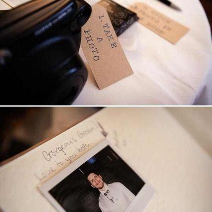 Прокат полароида для свадебной книги пожеланий