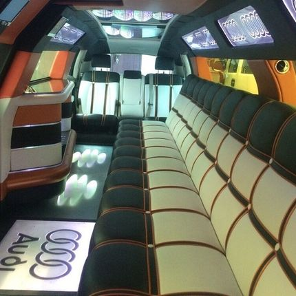 Audi Q7 limo style в аренду
