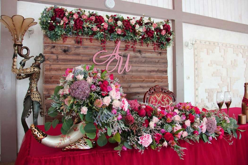 оформление свадьбы в цвете марсала. 23.06.18 - фото 17628668 Организатор Наталья Кравцова