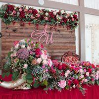 оформление свадьбы в цвете марсала. 23.06.18