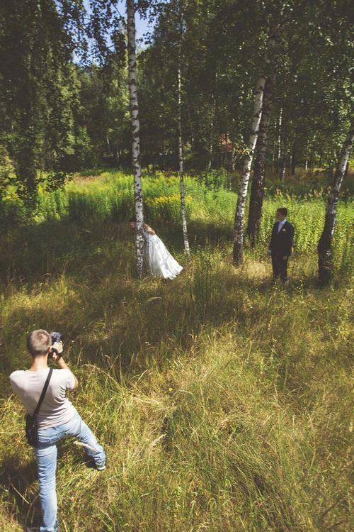 Талантливый видеограф Денис Востриков снимает фильм о нашей свадьбе :-)