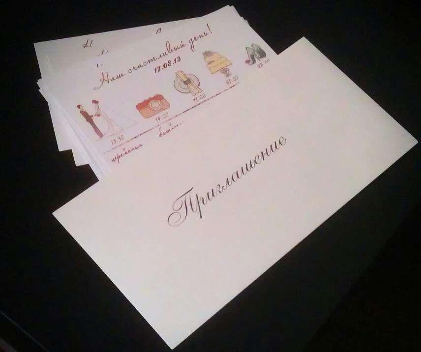 Фото 4347967 в коллекции Пригласительные - Пригласительные открытки от Ерёменко Анастасии
