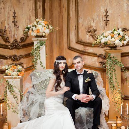 Свадебные колонны в аренду
