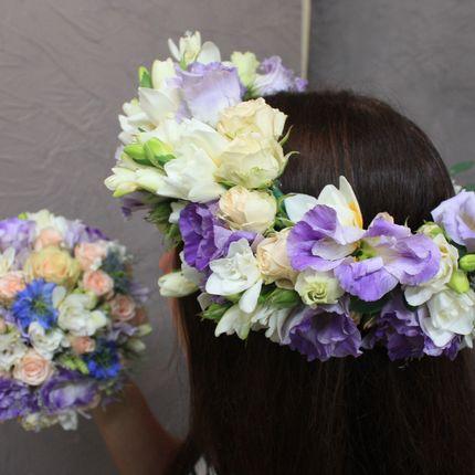 Венок для причёски невесты
