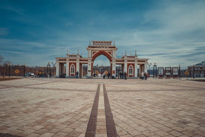 Царицыно центральный вход