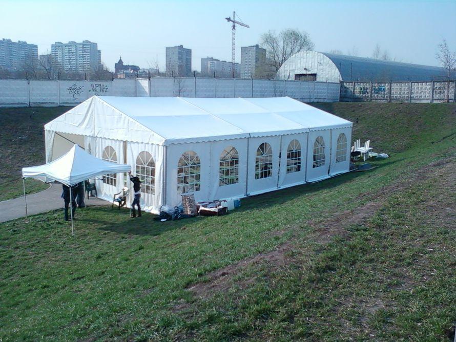 Аренда павильона двускатного шириной 10 м