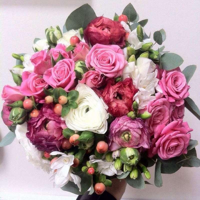 Фото 4628627 в коллекции Свадьбы. Архив. Букеты - Студия цветов El Fleurs