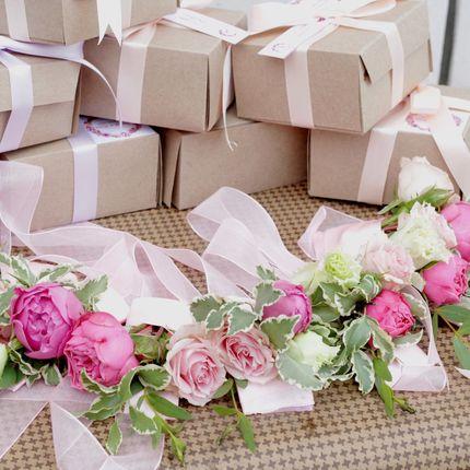Браслеты подружек невесты из живых цветов, цена за 1 шт