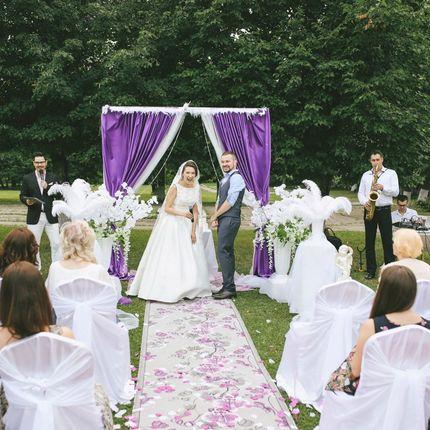 Проведение юмористической свадебной церемонии