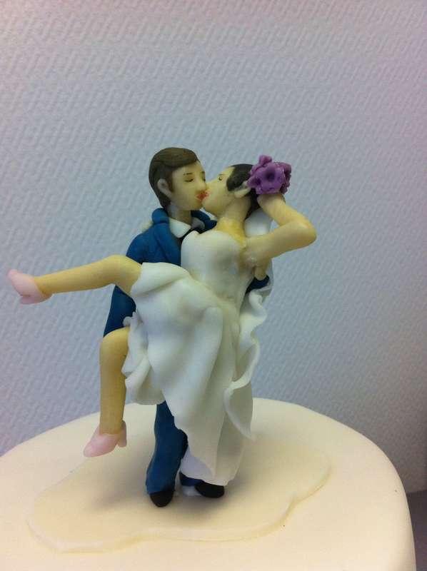 Фигурки для свадебного торта из мастики своими руками 33