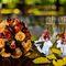 свадебный букет осенью