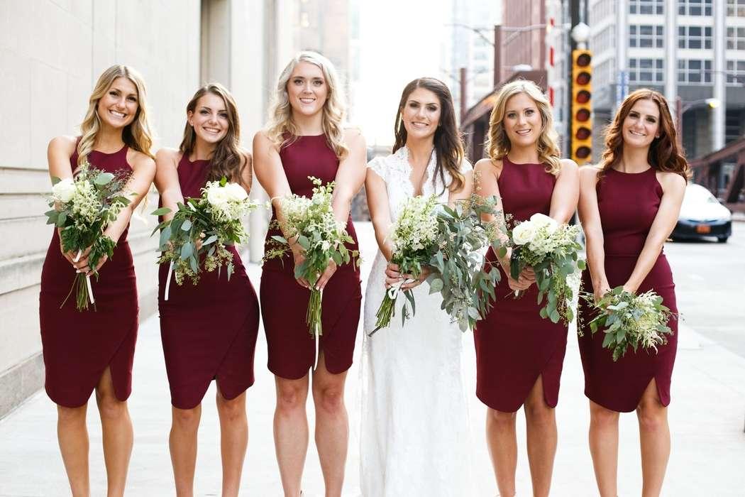 Подружки невесты в бордовом - фото 6896942 Невеста01