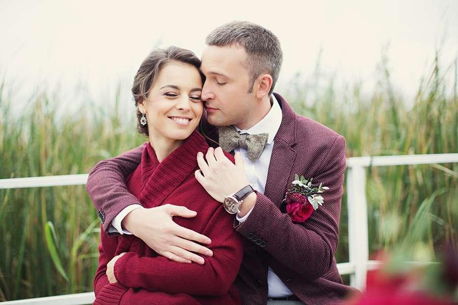 Бордовые акценты на свадьбе - фото 6896952 Невеста01