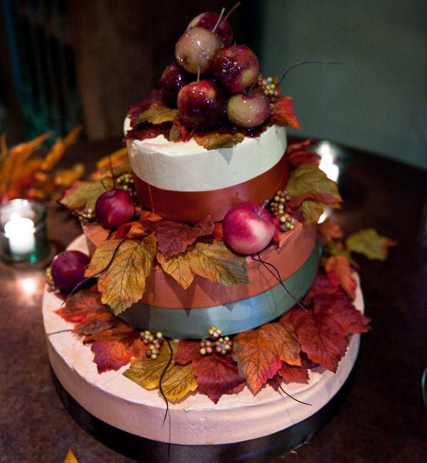 Свадебный осенний торт - фото 6919674 Невеста01