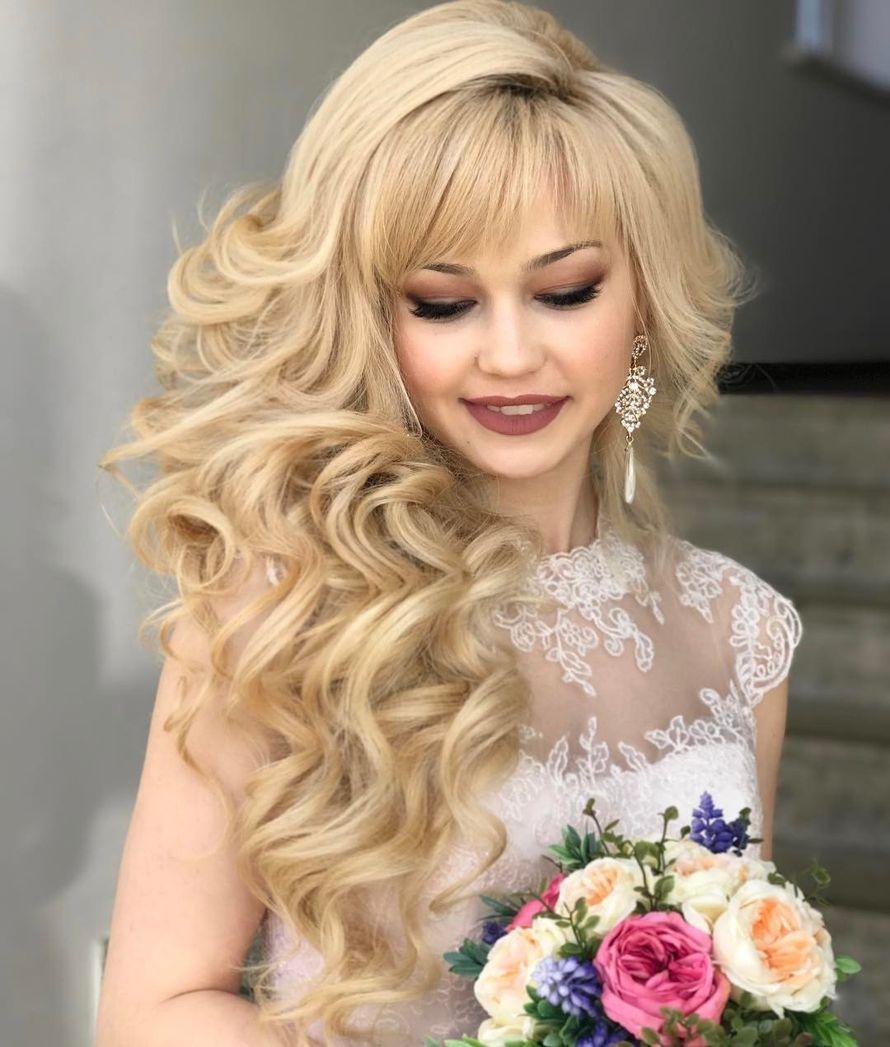 Омск свадебная прическа и макияж
