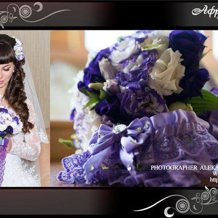 Букет для невесты по индивидуальному эскизу