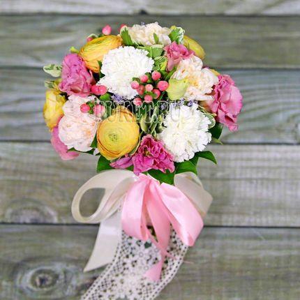 Букет невесты по индивидуальному эскизу