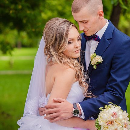 Фотосъёмка полного свадебного дня, 12 часов
