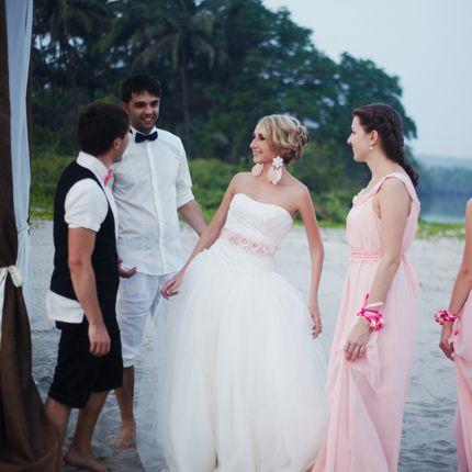Выездные свадьбы, съёмка в ГОА