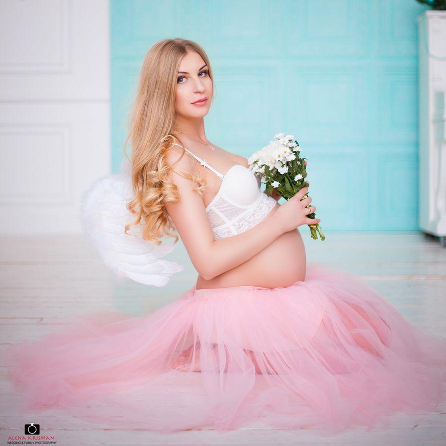 Студийная фотосъёмка для беременных, 1 час