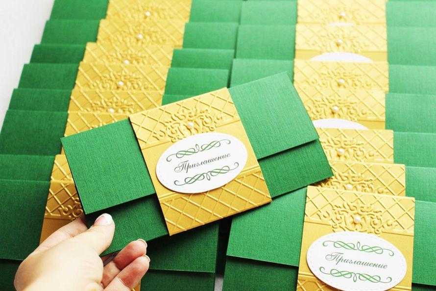"""Фото 4774935 в коллекции Свадебные приглашения - Мастерская свадебных аксессуаров """"Merci"""""""