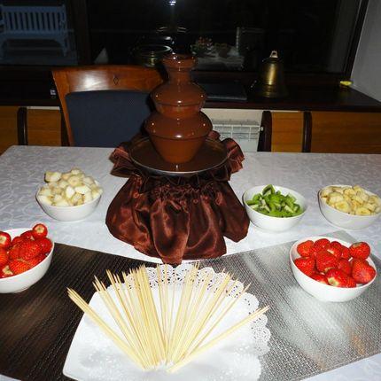 Безумно вкусный шоколадный фонтан