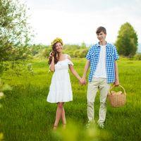 Love Story, природа, пикник, корзина, деревенский стиль