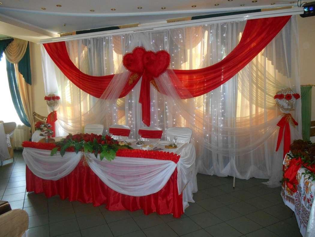 Фото 4833057 в коллекции Свадьба в красном цвете - Декорация - организация и оформление свадеб