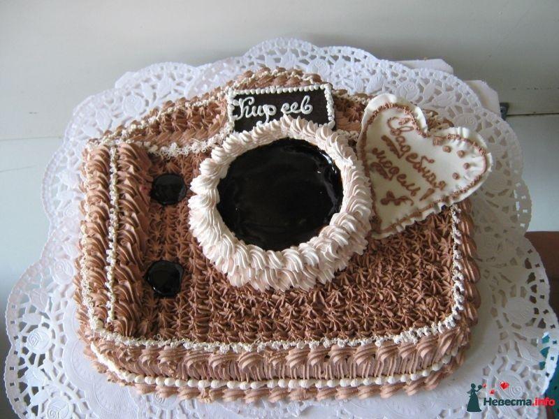 Торт в виде фотоаппарата киев
