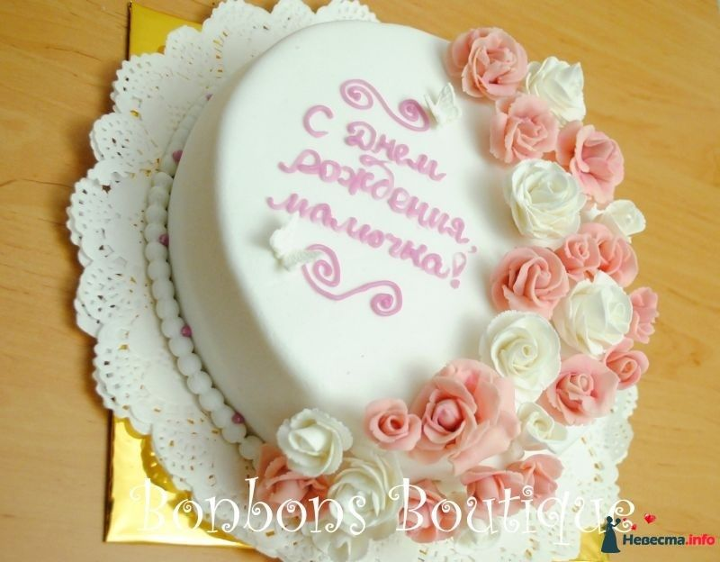 Оформление тортов на день рождения маме