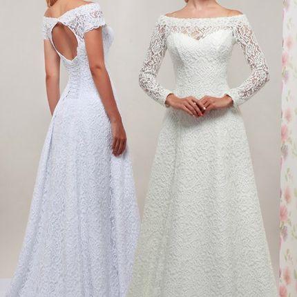 Кружевное свадебное платье Мелисса