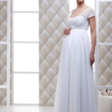 Свадебное платье для беременных Асти