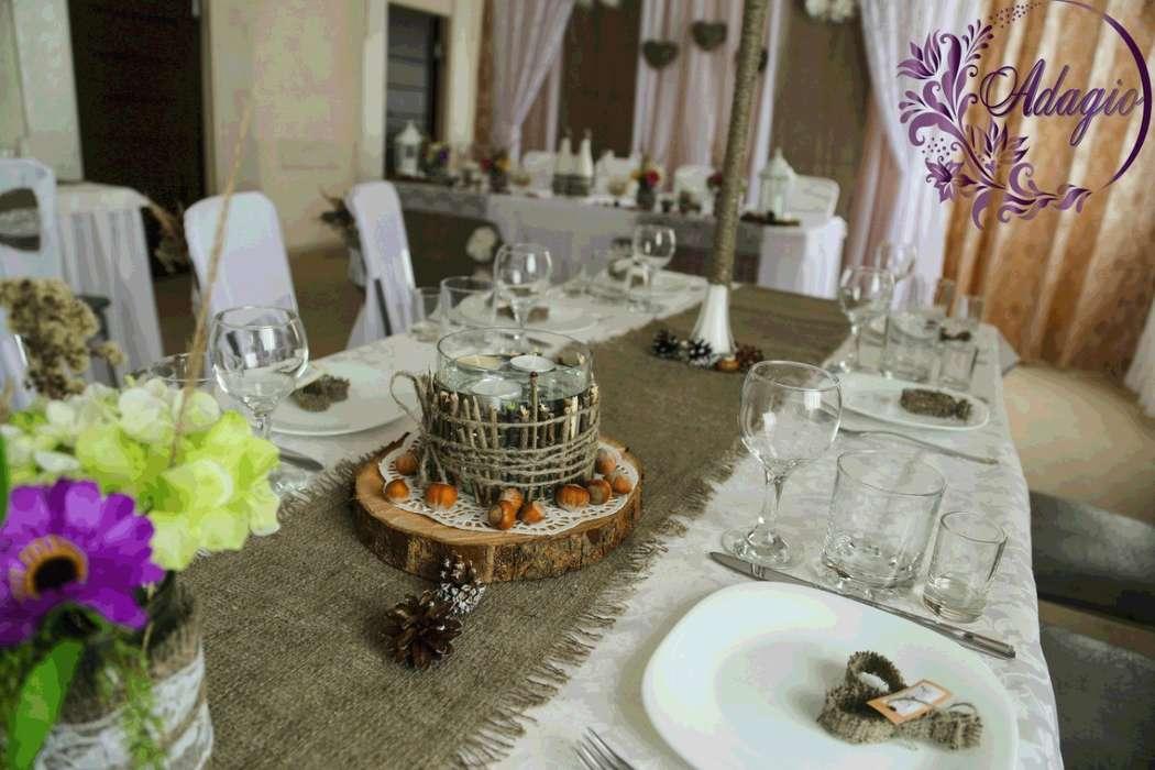 """Фото 4916547 в коллекции Свадьба в стиле rustic - """"Adagio"""" - свадебный декор"""