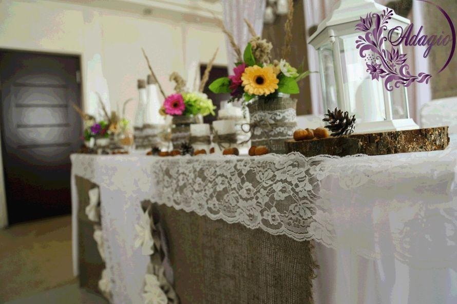 """Фото 4916555 в коллекции Свадьба в стиле rustic - """"Adagio"""" - свадебный декор"""