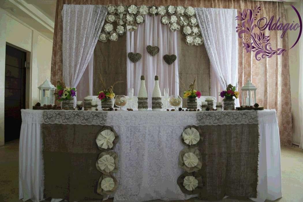 """Фото 4916567 в коллекции Свадьба в стиле rustic - """"Adagio"""" - свадебный декор"""