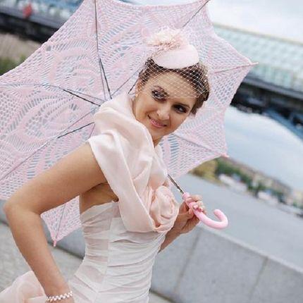 Вязаный зонт, модель №3