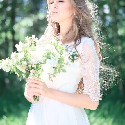 """Свадебное платье """"Океанская жемчужина"""""""
