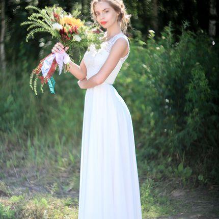 """Свадебное платье """"Солнечный блеск"""""""