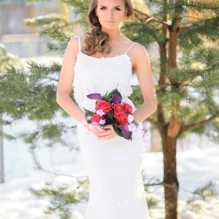 """Свадебное платье """"Альпийский луг"""""""