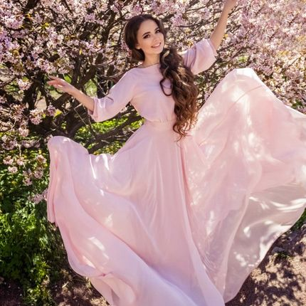 Свадебное платье Богемный рубин