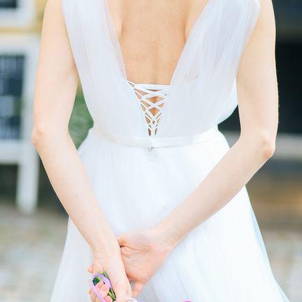 """Свадебное платье """"Снежный опал"""""""