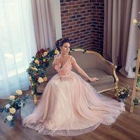 """Свадебное платье """"Коралловый талисман"""""""
