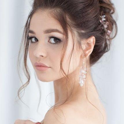 Свадебная причёска, макияж и репетиция