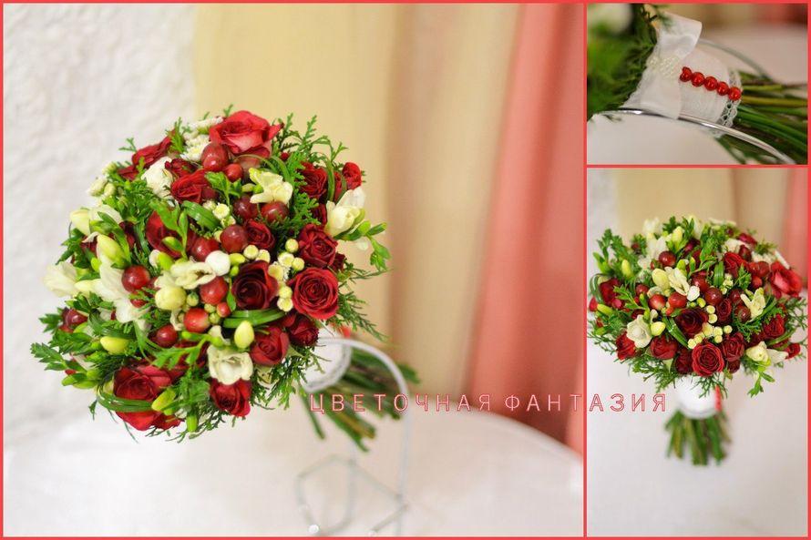 Фото 6818684 в коллекции Букет невесты - Цветочная Фантазия - Цветы и Декор