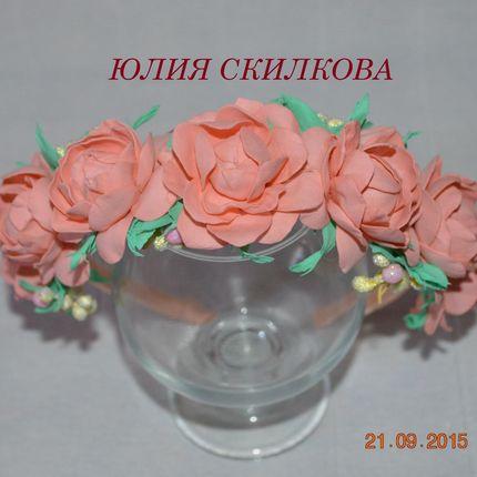 Ободок для фотосессии в любом цвете