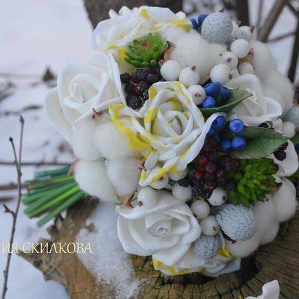 """Букет для невесты """"Зимняя свадьба"""""""