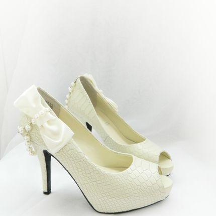 Свадебный туфли айвори 36